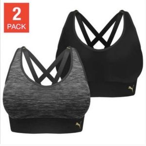 Puma Ladies' Seamless Sports Bra with Removable Cu